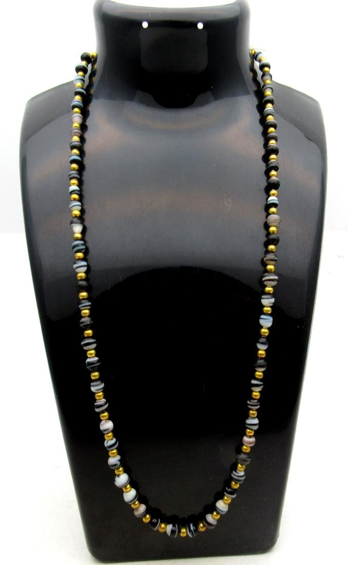 Roman Coloured Glass Necklace