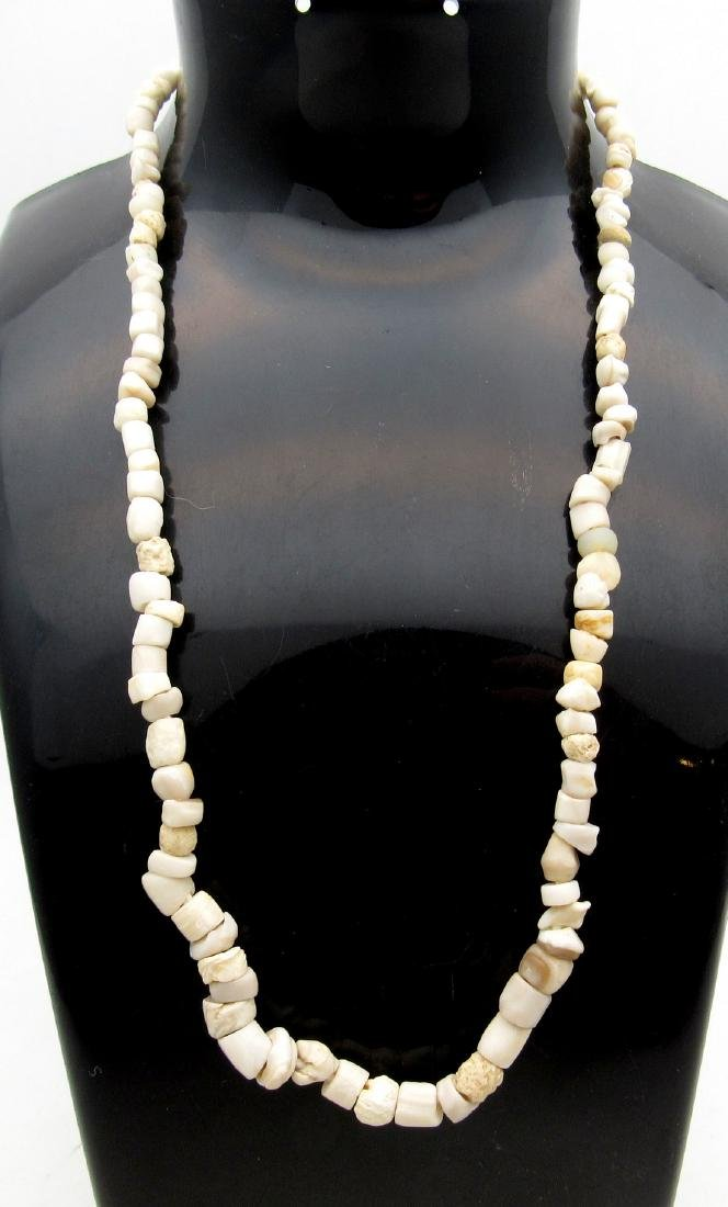 Early Neolithic Bone and Stone Necklace