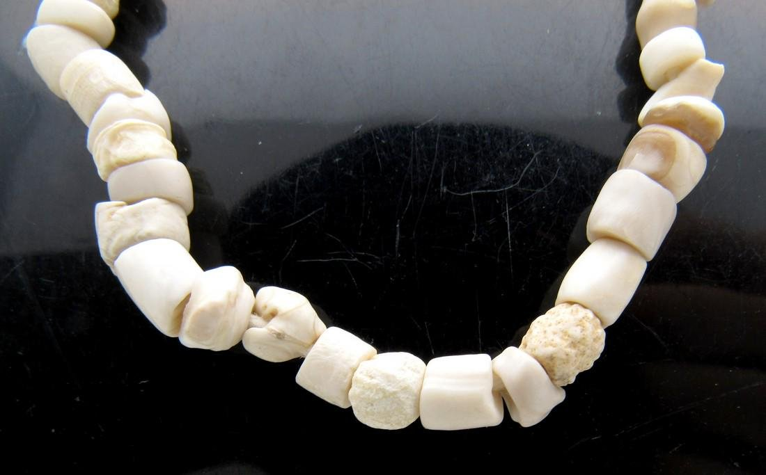 Early Neolithic Bone and Stone Necklace - 2