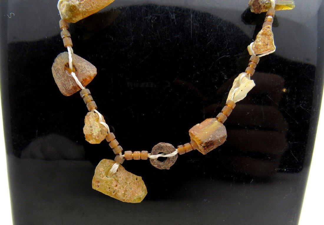 Roman Glass fragment Necklace - 3