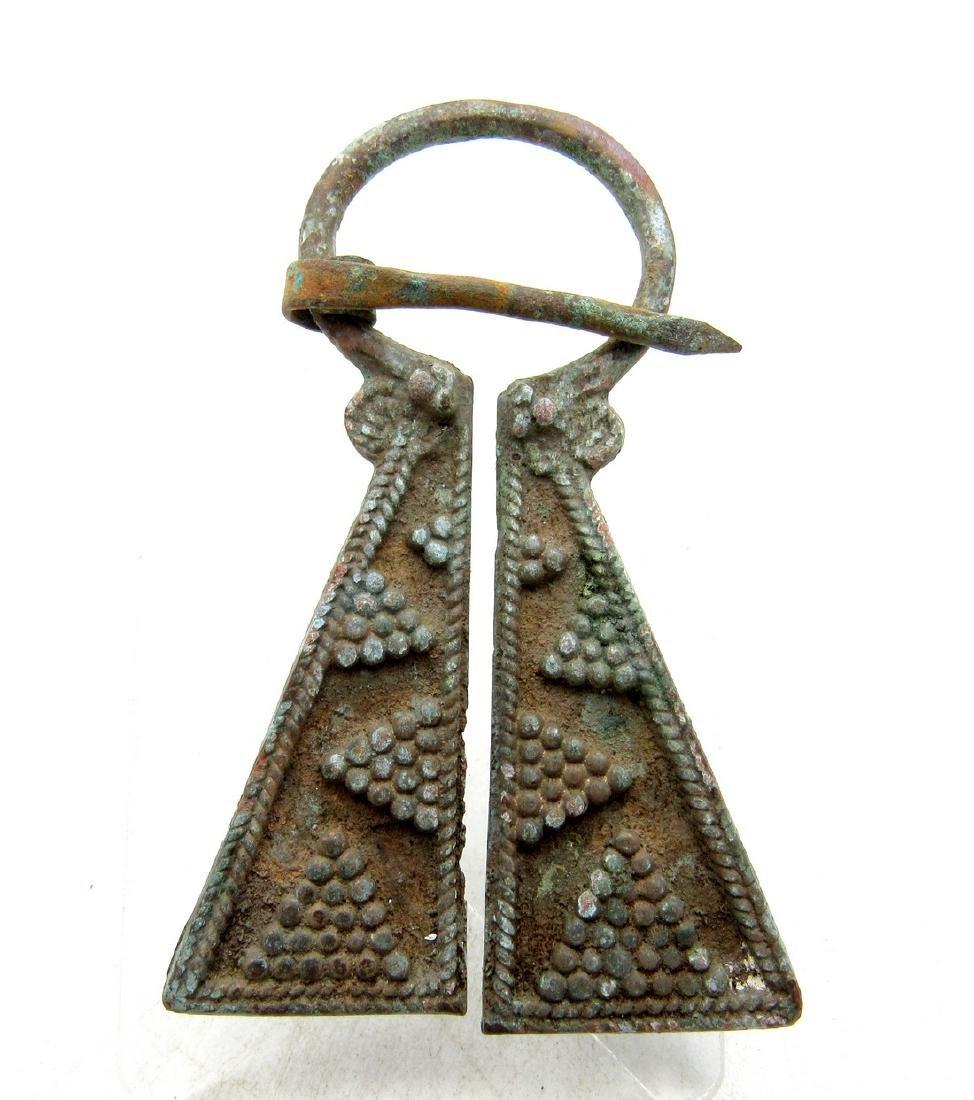 Viking Penannular Omega Brooch