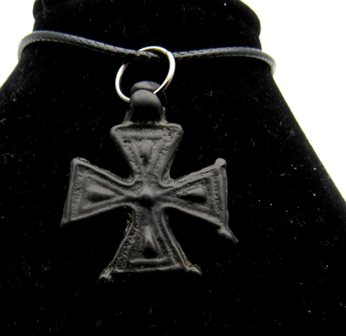 Rare Knights Templar Maltese Cross Pendant