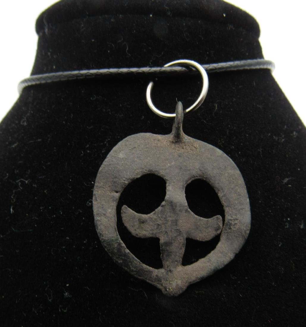 Viking Amulet with Lunar Motif - 2