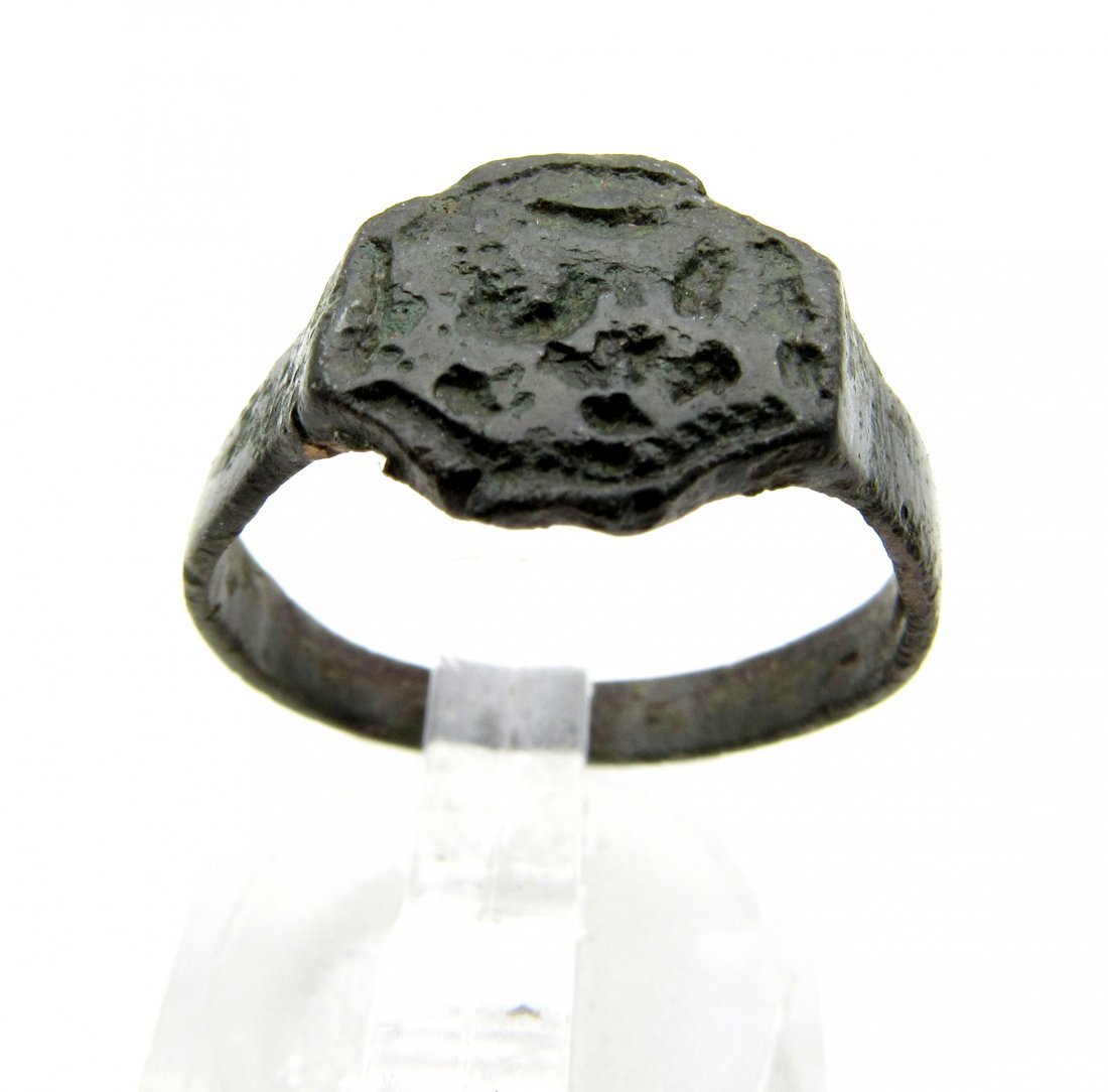 Wearable Viking Ring with Runes