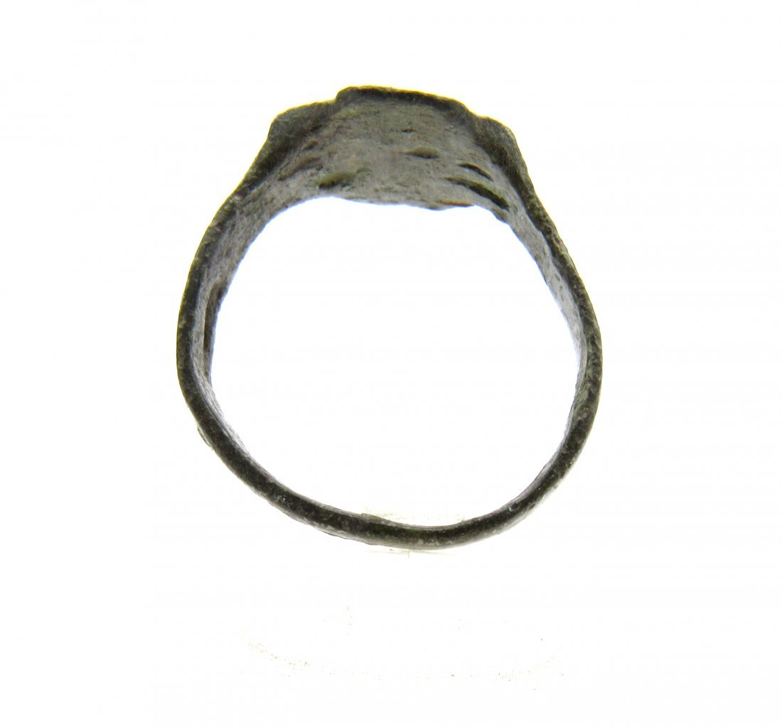 Wearable Viking Ring with Runes - 2