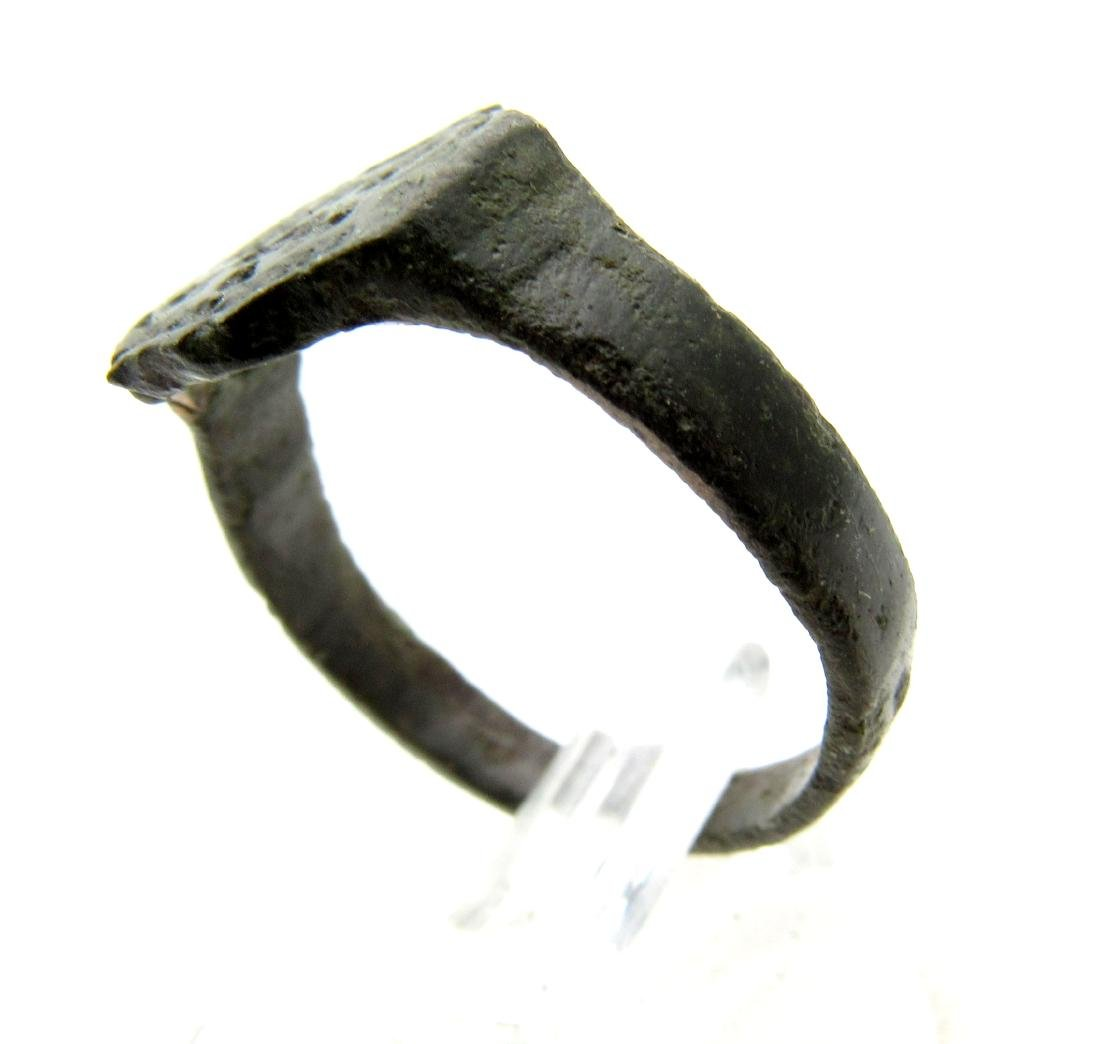 Wearable Viking Ring with Runes - 3