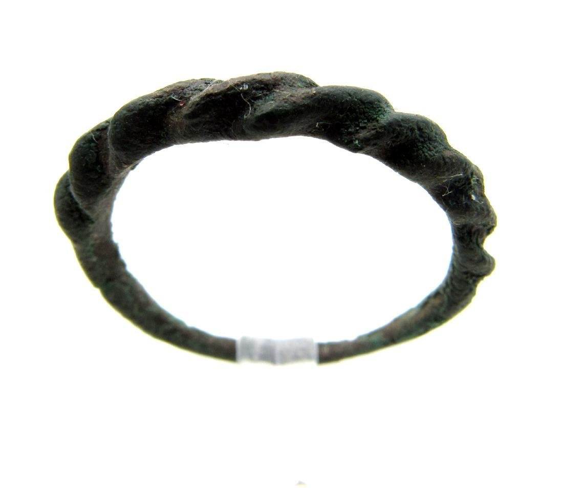 Wearable Viking Twisted Ring