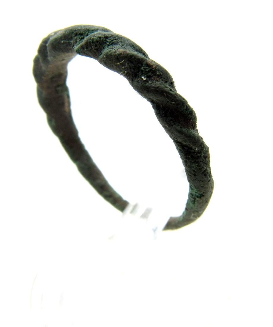 Wearable Viking Twisted Ring - 2