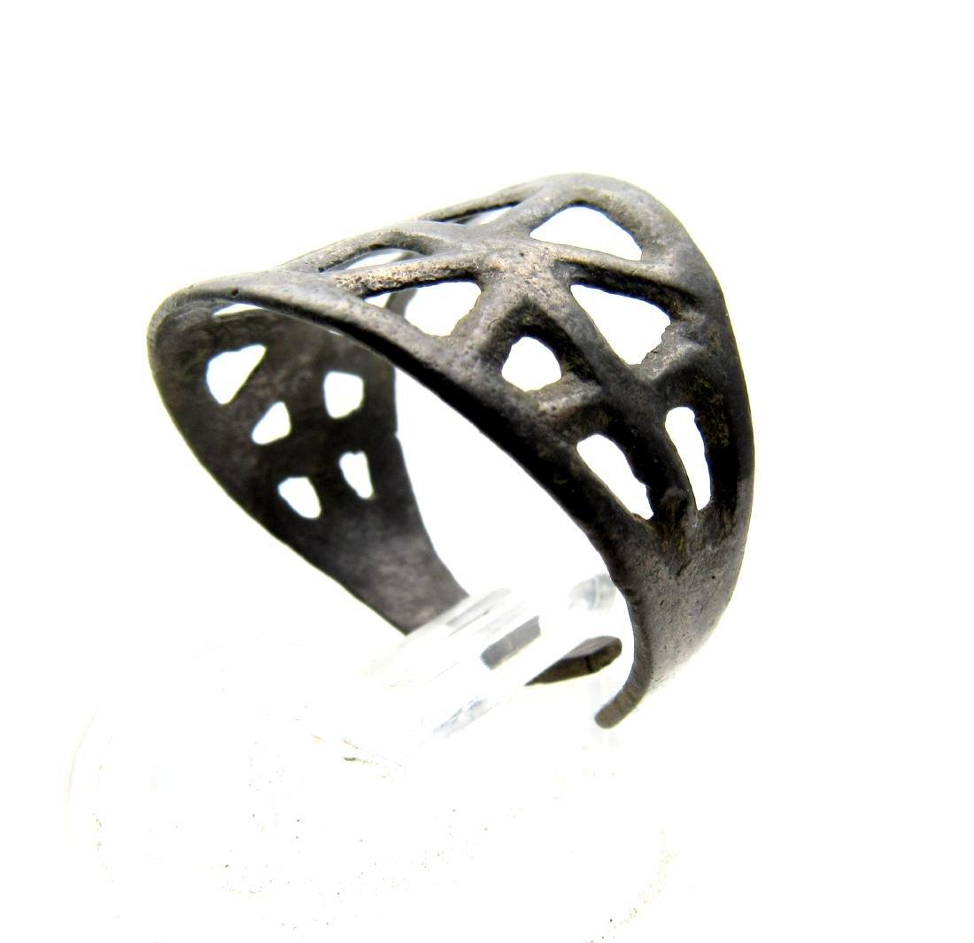 Wearable Viking Open Work Ring