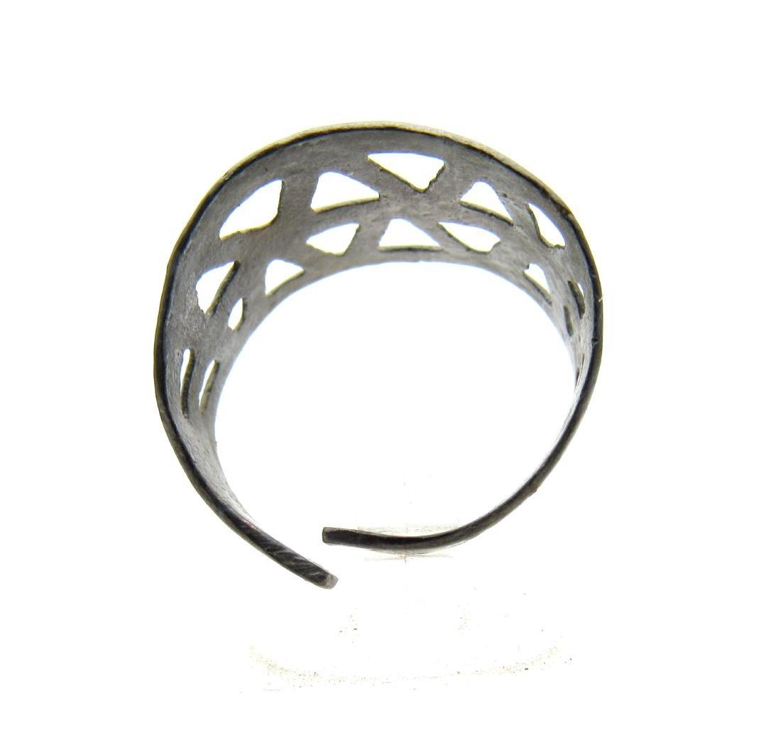 Wearable Viking Openwork Ring - 2