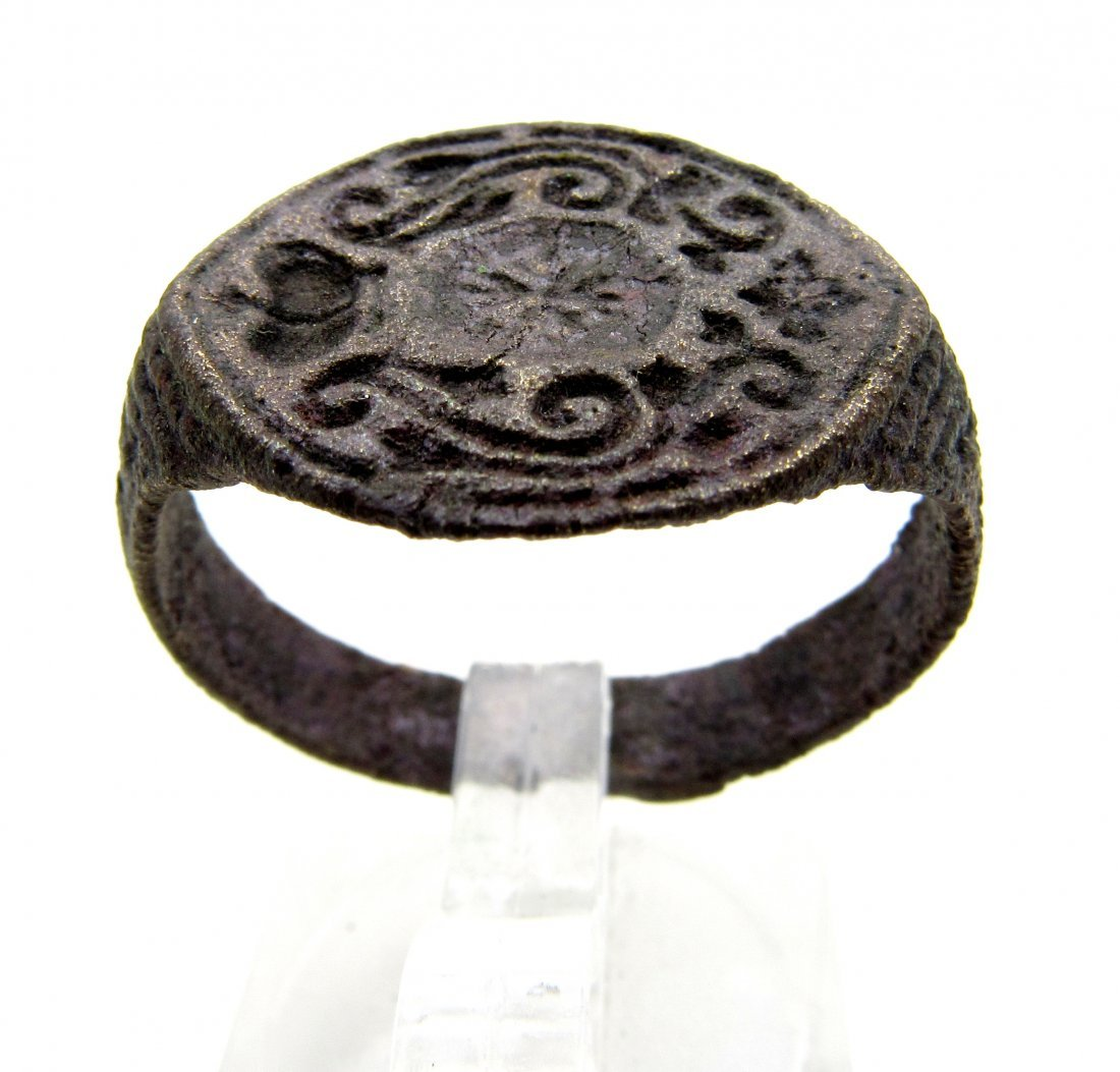Wearable Crusaders Heraldic Seal Ring