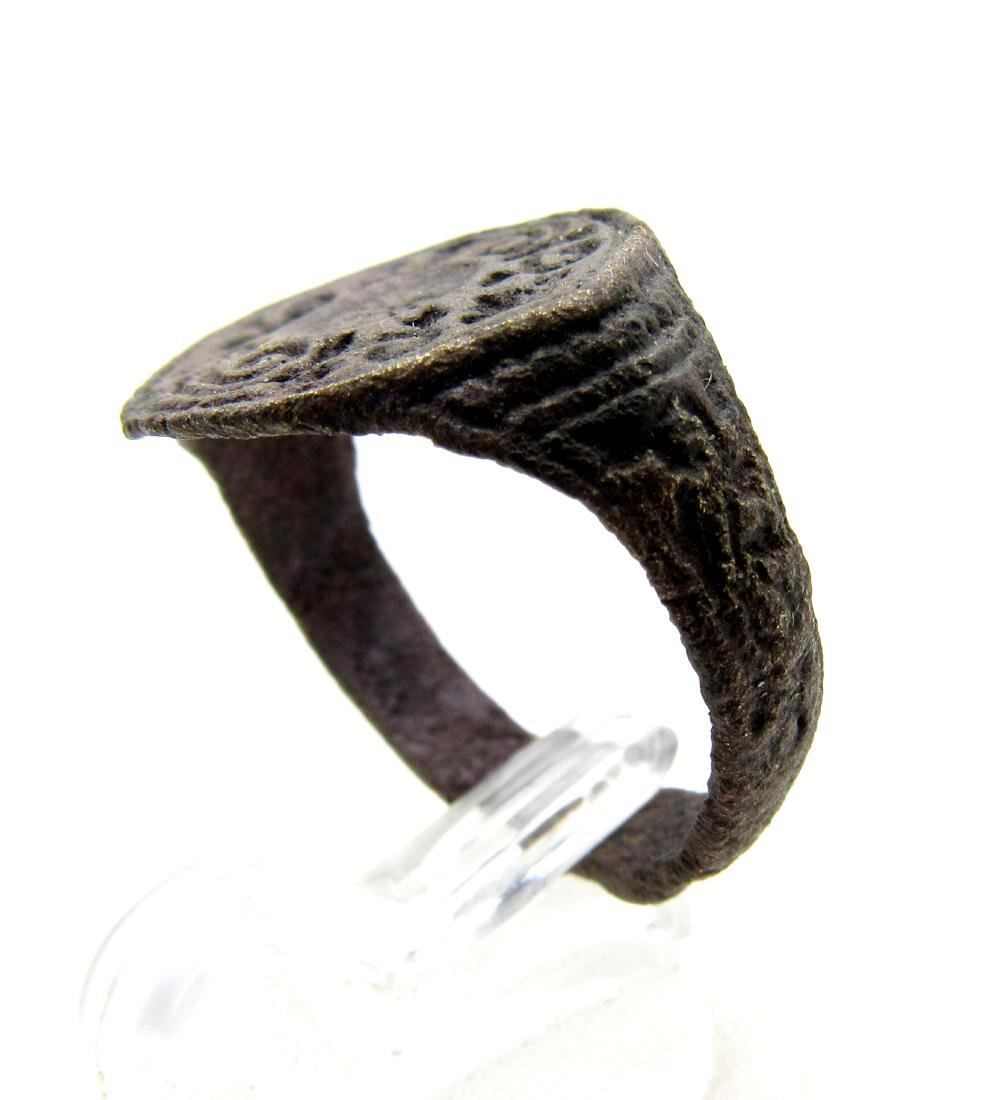Wearable Crusaders Heraldic Seal Ring - 3