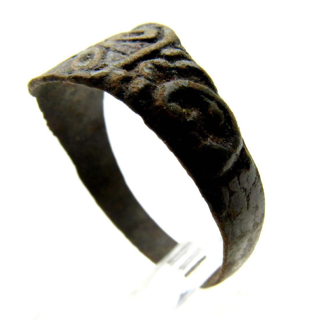 Wearable Crusaders Ring with Cross - 2