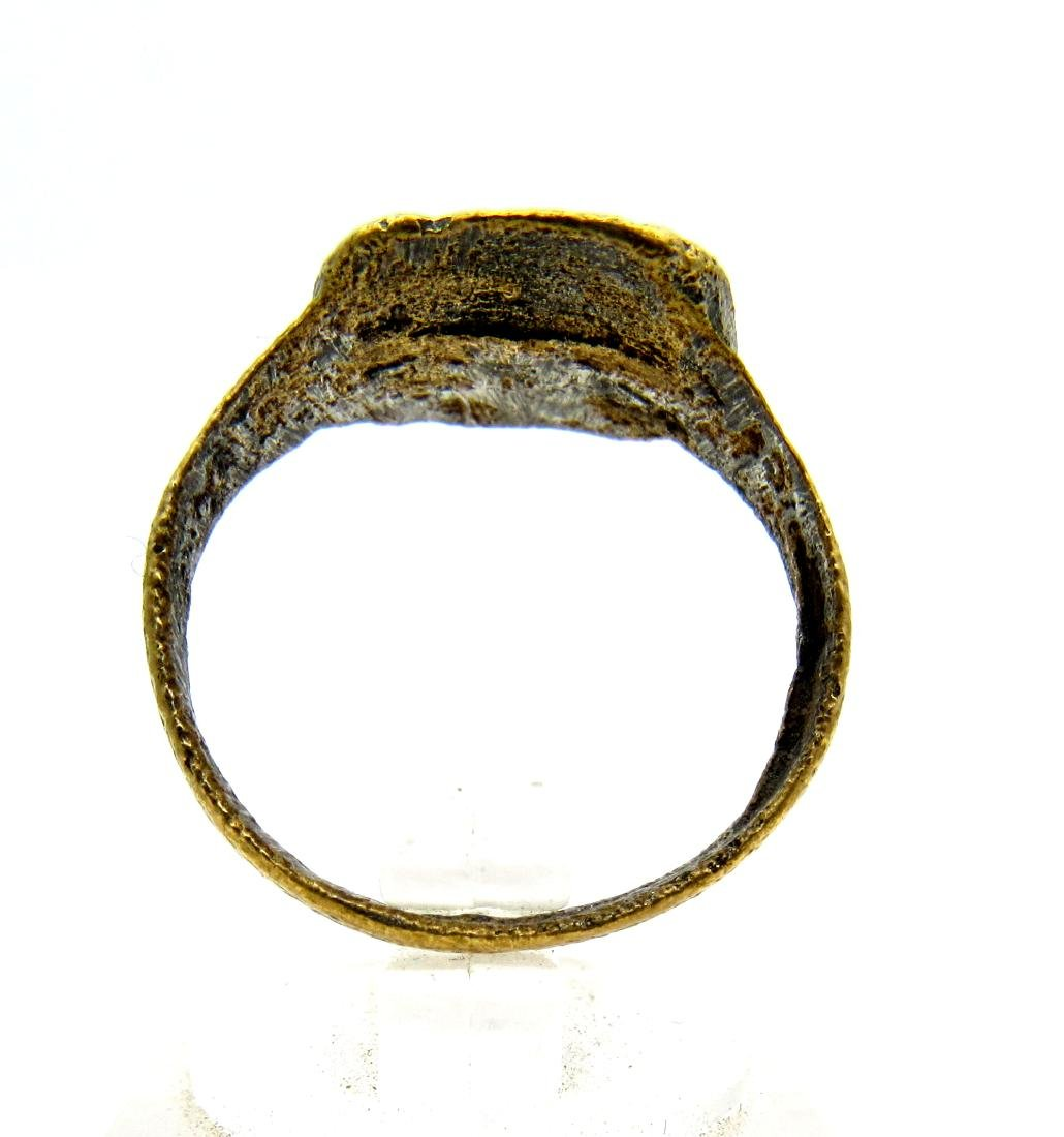 Wearable Viking Ring with Runic Symbols - 3