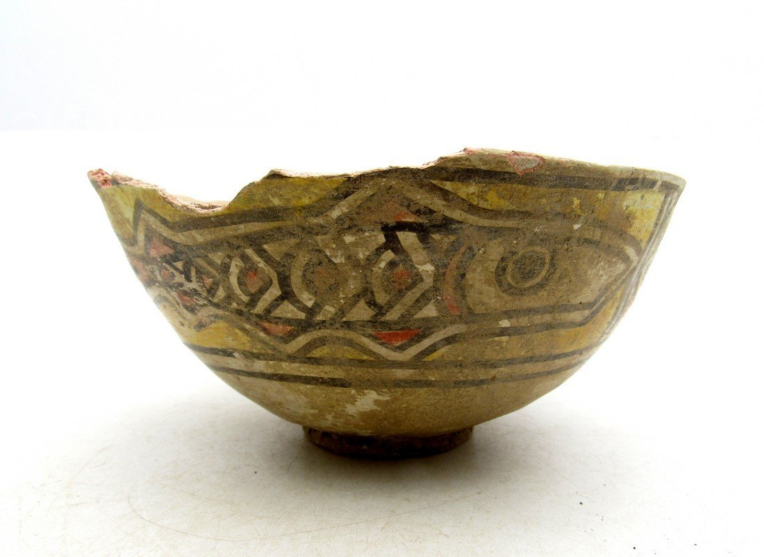 Ancient Indus valley Terracotta Painted Bowl with Fish