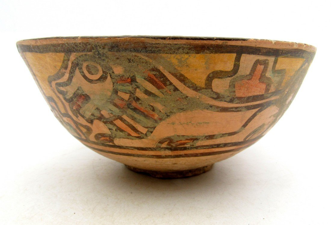 Ancient Indus valley Terracotta Painted Bowl with Lion