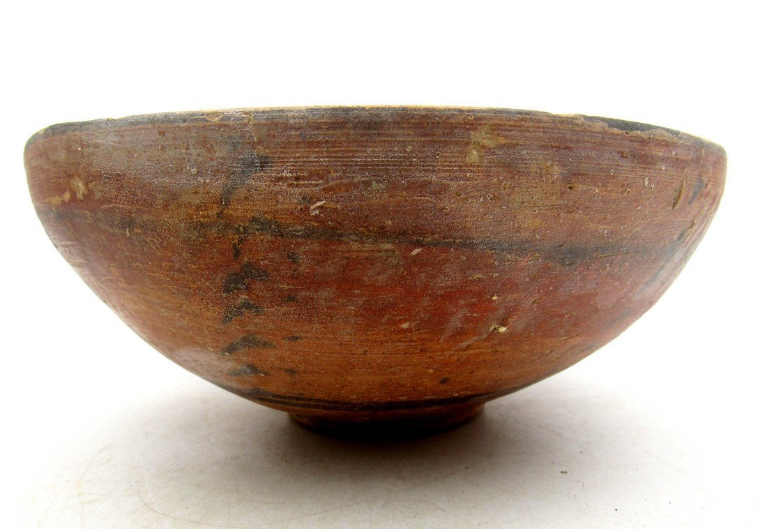 Ancient Indus valley Terracotta Painted Bowl with Deer