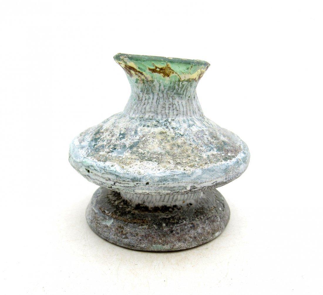 Ancient Roman/ Byzantine Glass Flask