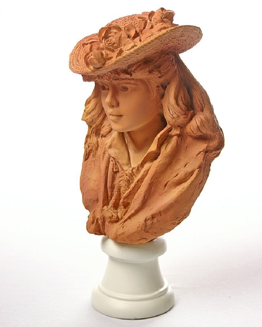 After Auguste Rodin: Rose Beuret Bust Statue