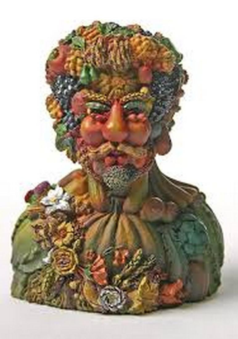 After Giuseppe Arcimboldo: Vertumnus Head Statue