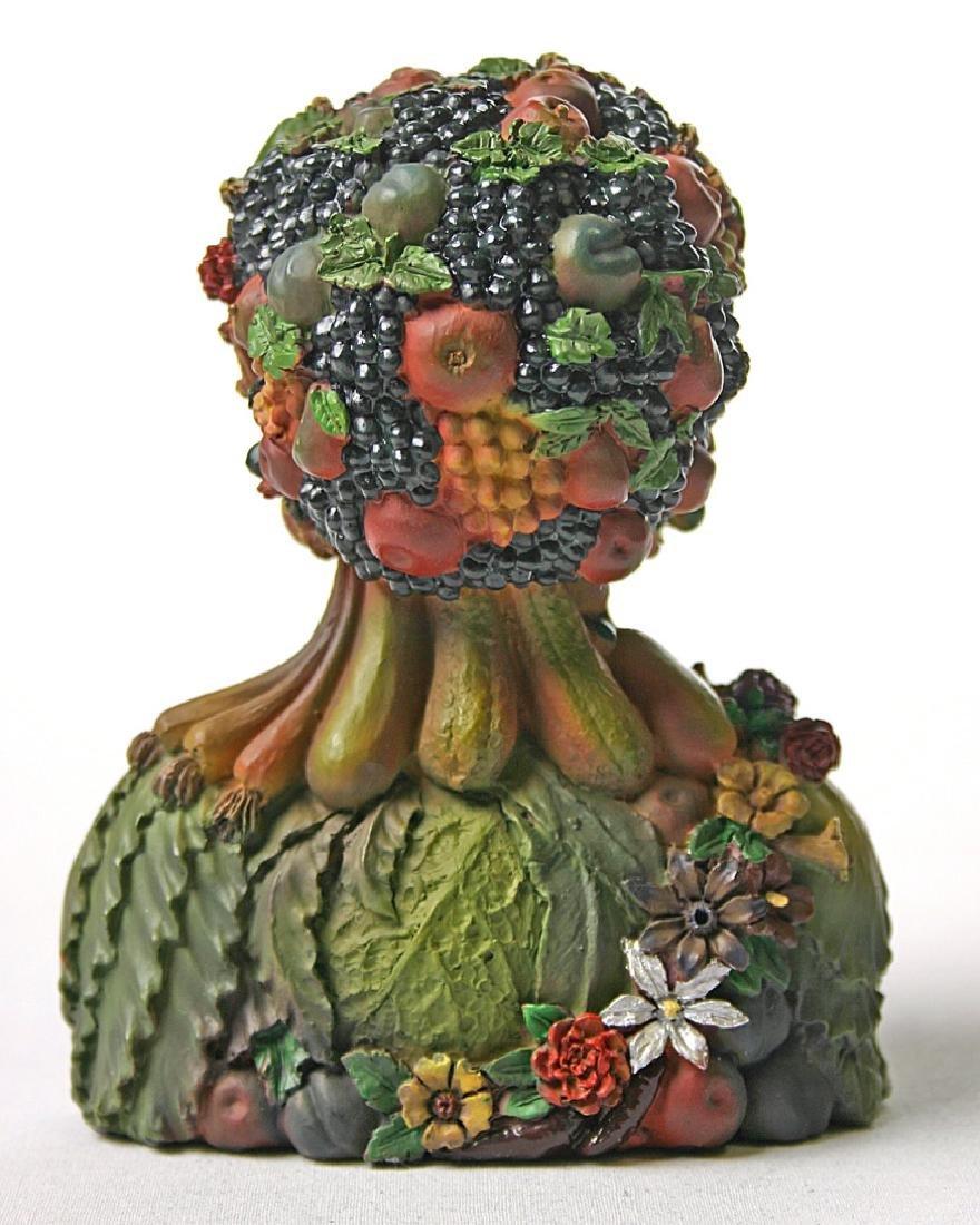 After Giuseppe Arcimboldo: Vertumnus Head Statue - 2