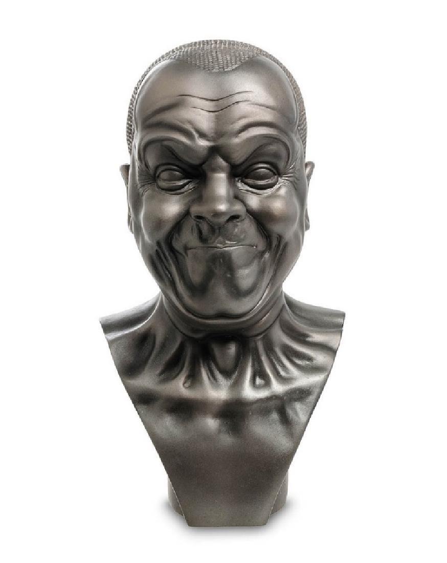 After Messerschmidt: A Strong Man Bust statue