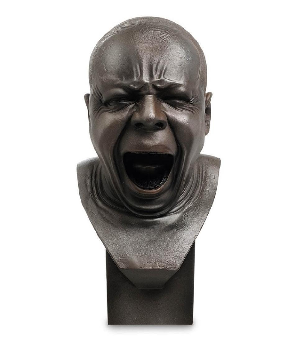 After Messerschmidt: The Yawner Bust statue