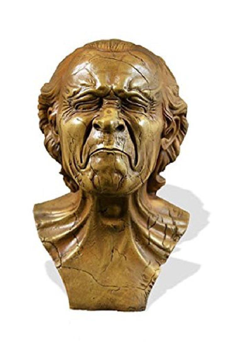 After Messerschmidt: Vexed Man Bust statue