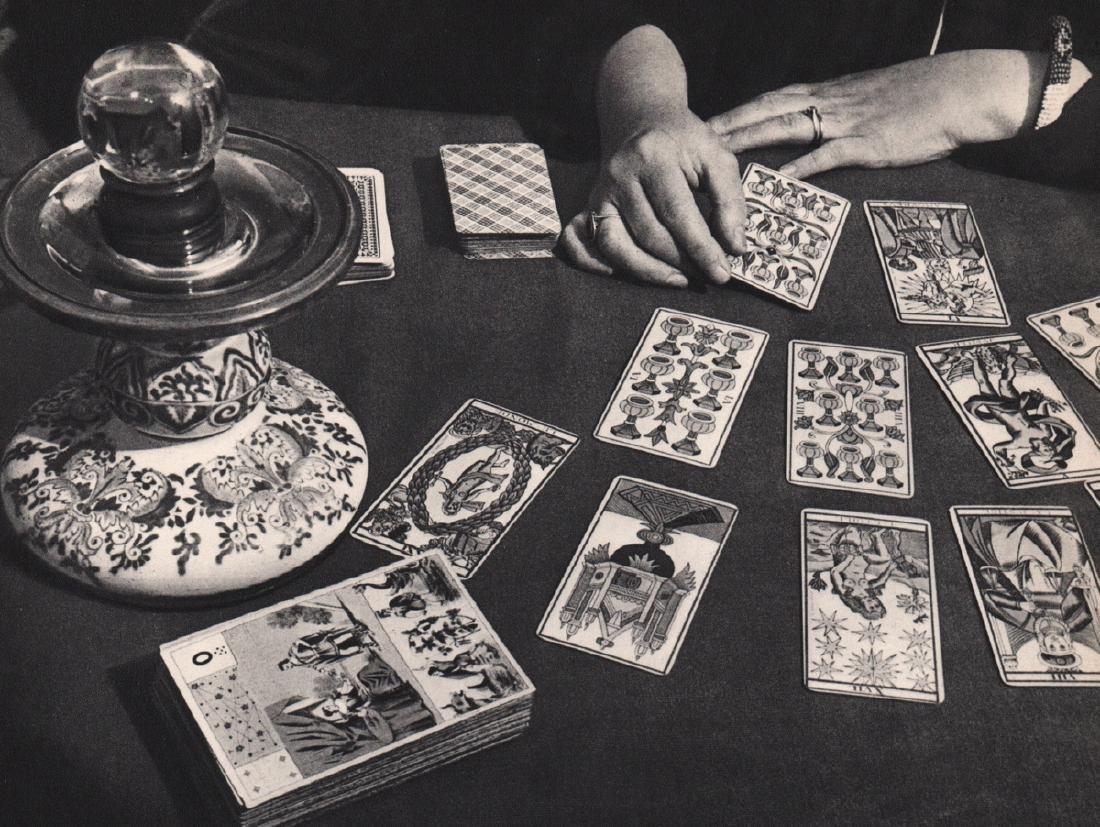 BRASSAI - Tarot Reading