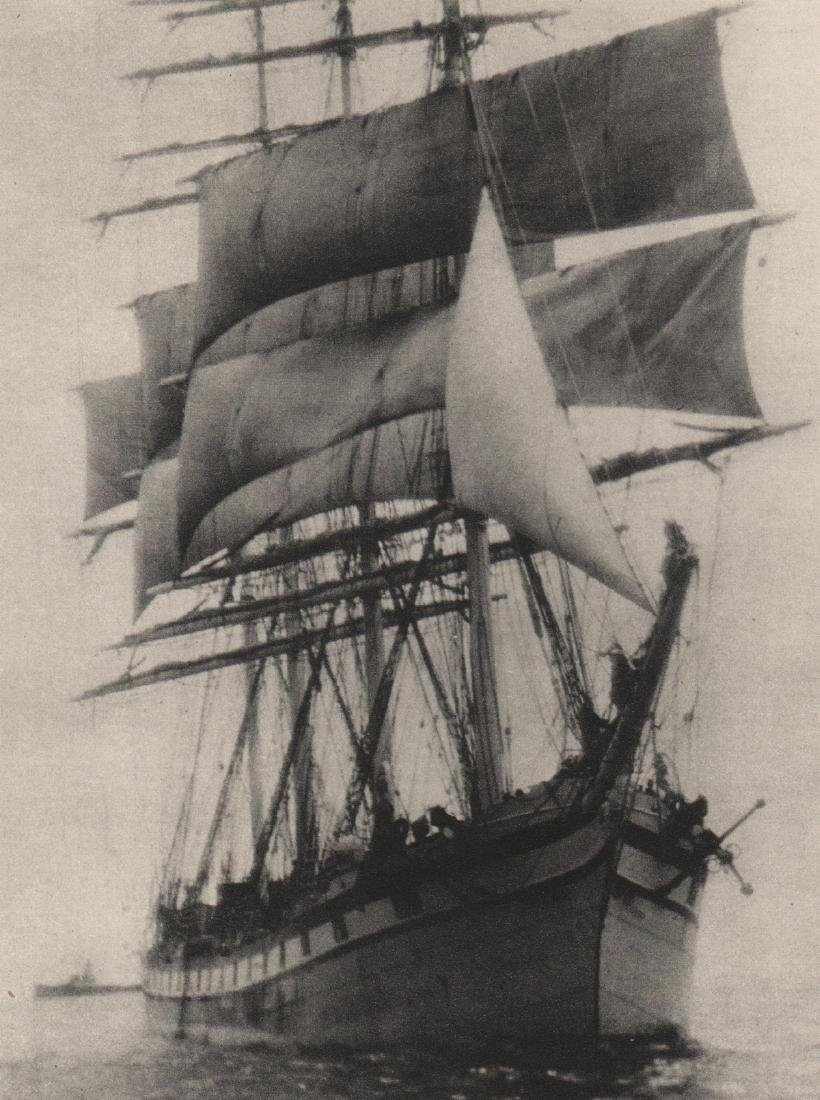 ALVIN LANGDON COBURN -  The Ship