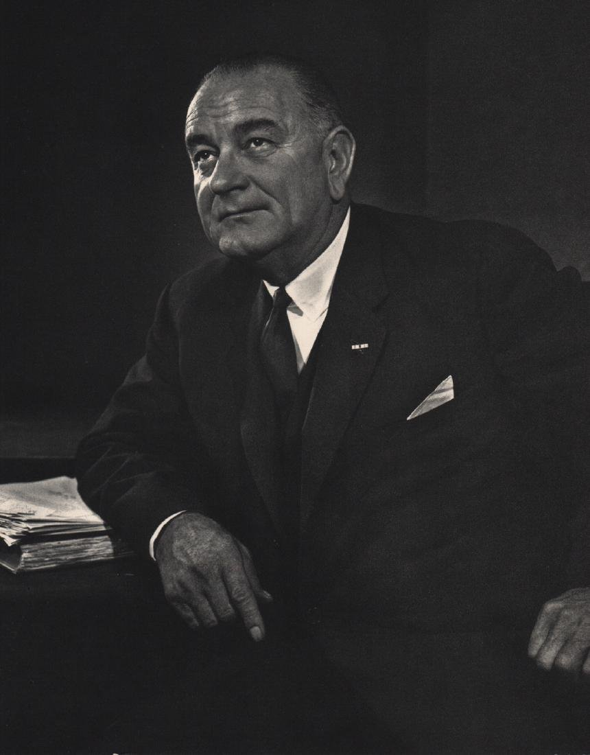 YOUSUF KARSH - Lyndon Baines Johnson
