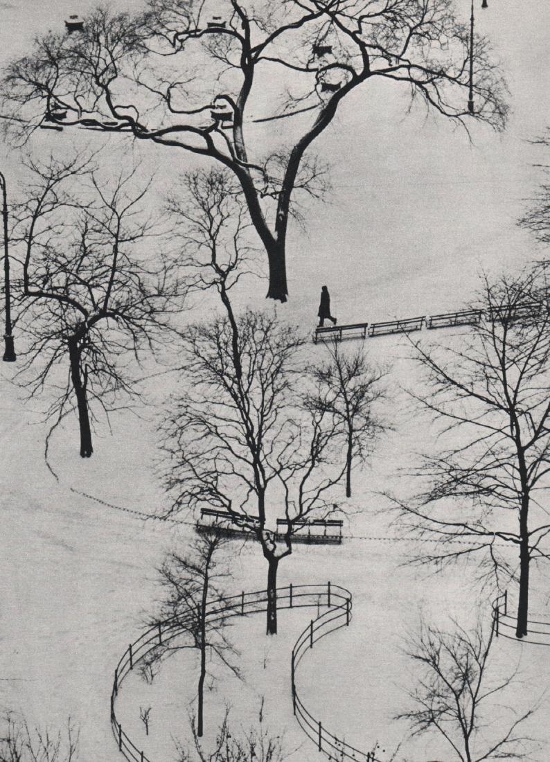 ANDRE KERTESZ -  Washington Square, NYC