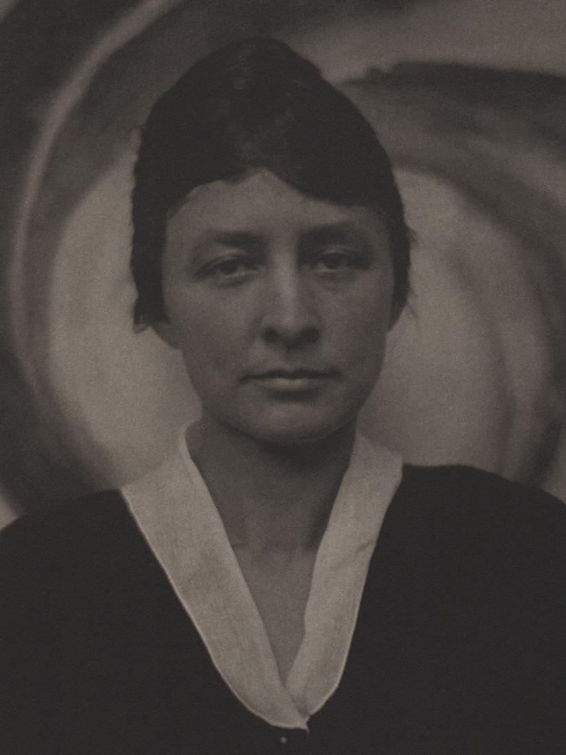 ALFRED STIEGLITZ- Georgia O'Keeffe, June 4, 1917