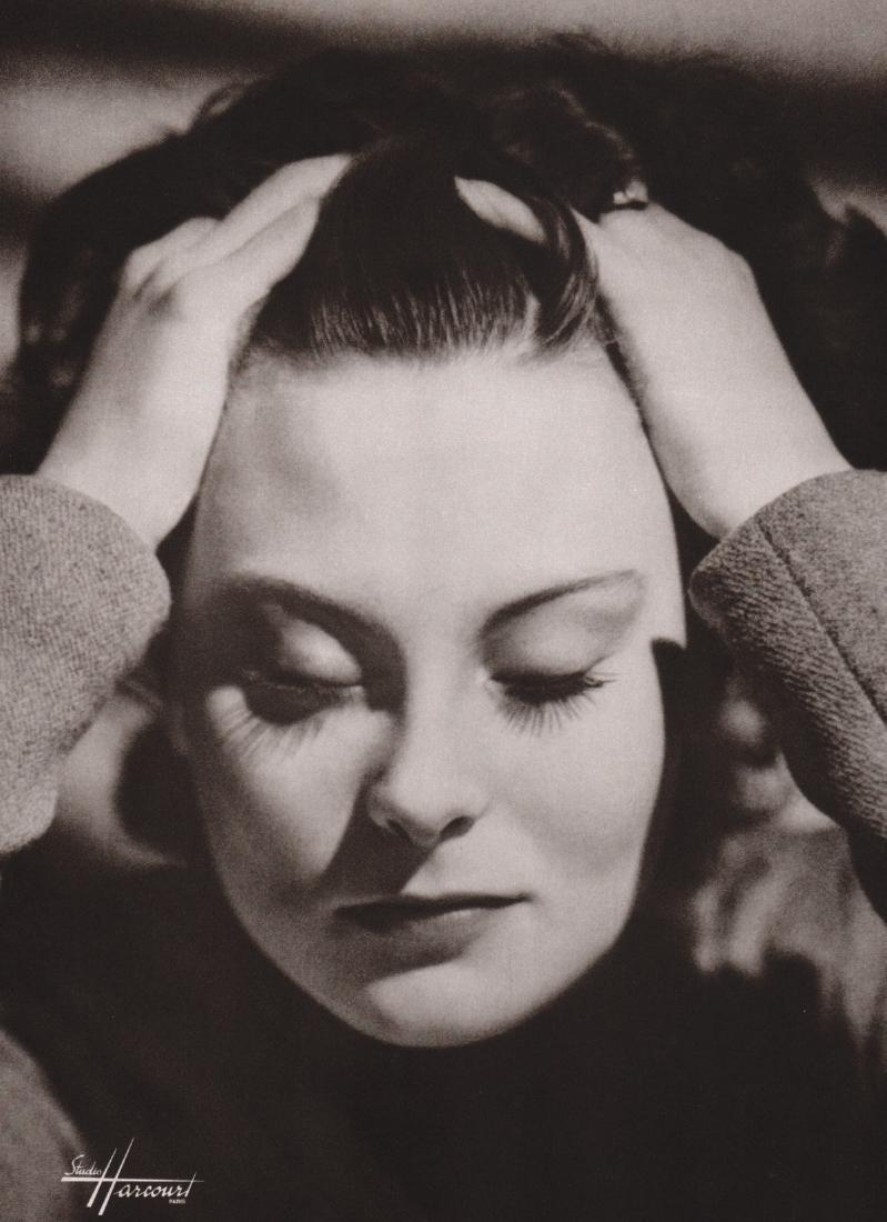 STUDIO HARCOURT - Michele Morgan, 1957