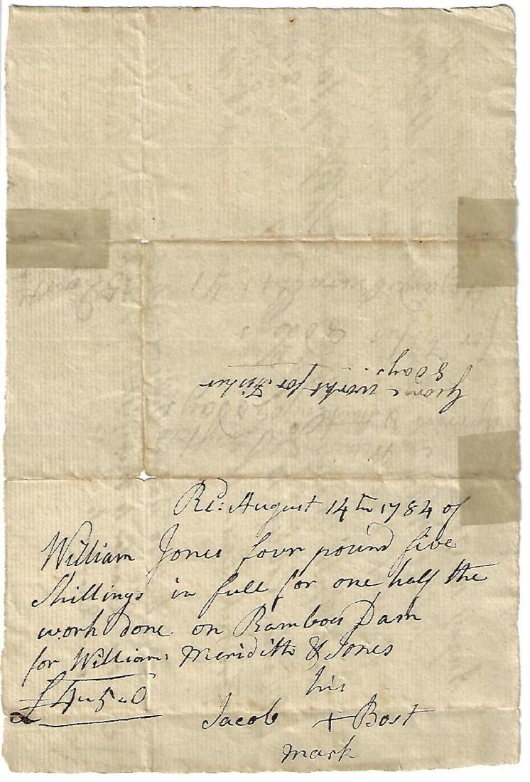 1784 Manuscript Documents Newport Shipping Philadelphia - 2