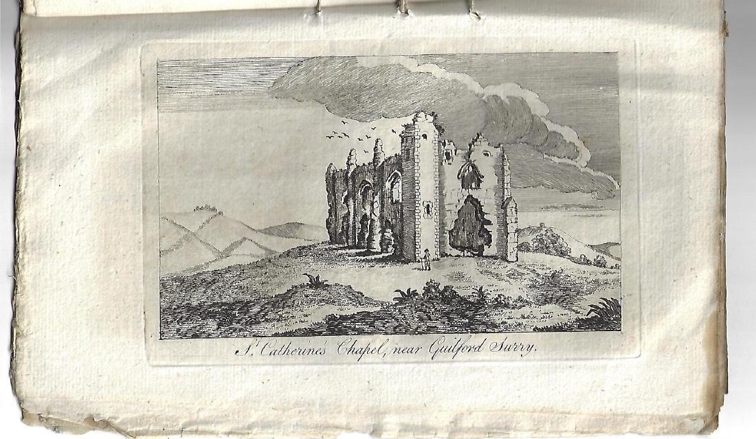 1774 Original Issue Gentleman's Magazine w/ Engraving - 2