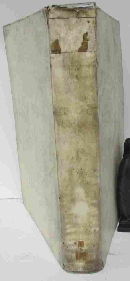 1736 ANTIQUE VELLUM BOUND LARGE FOLIO 10 x 15 ACTA