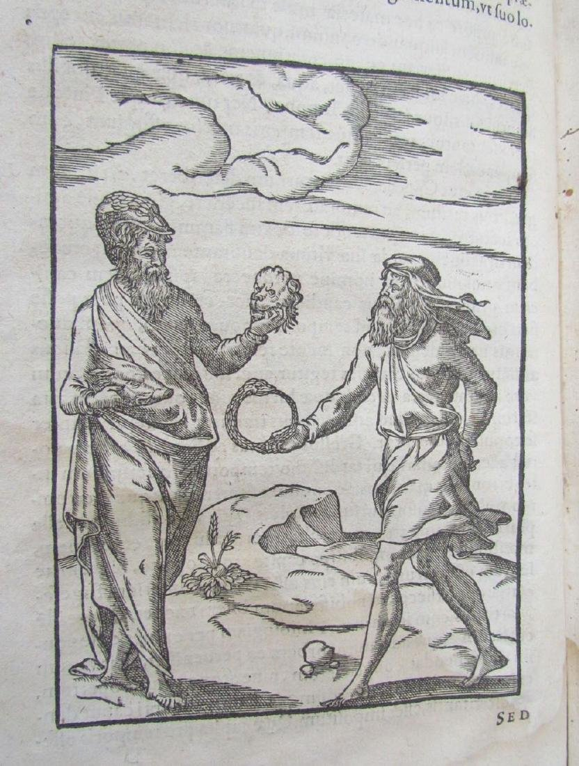1581 RARE FULLY ILLUSTRATED MYTHOLOGY ANTIQUE VELLUM - 8