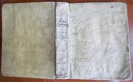 1749 ANTIQUE VELLUM BOUND Di Fr Gaetano Maria da