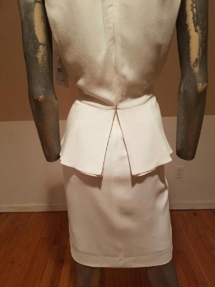 Christian Dior Paris Runway peplum dress NWT silk crepe - 10
