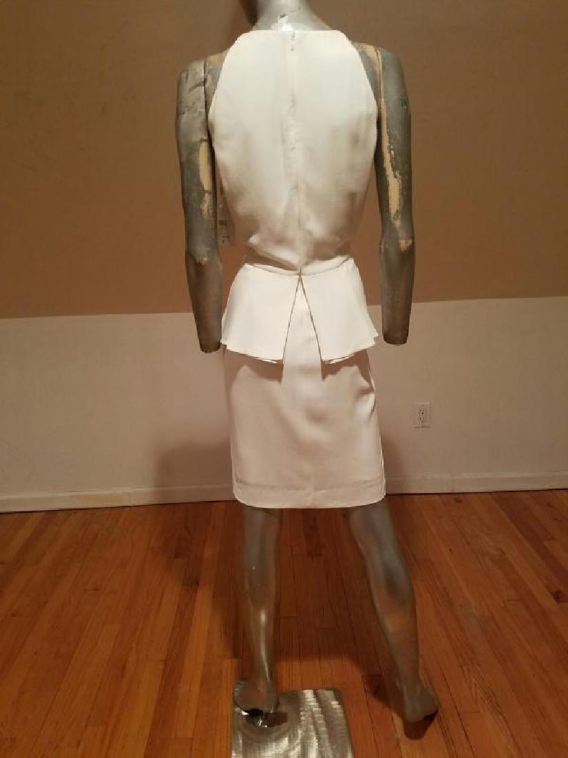Christian Dior Paris Runway peplum dress NWT silk crepe - 8