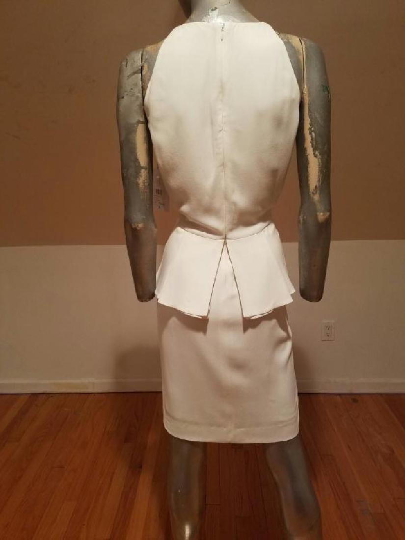 Christian Dior Paris Runway peplum dress NWT silk crepe - 9