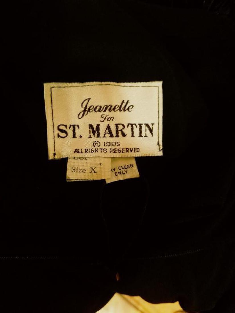 Vtg Iconic Jeanette for St.Martin Feather embellished - 2