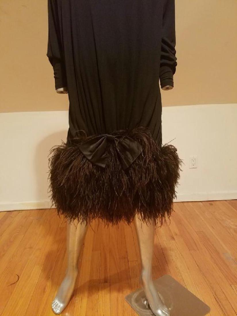 Vtg Iconic Jeanette for St.Martin Feather embellished - 7
