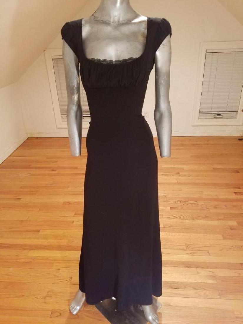 Eli Tahari couture gown lace under bodice - 2