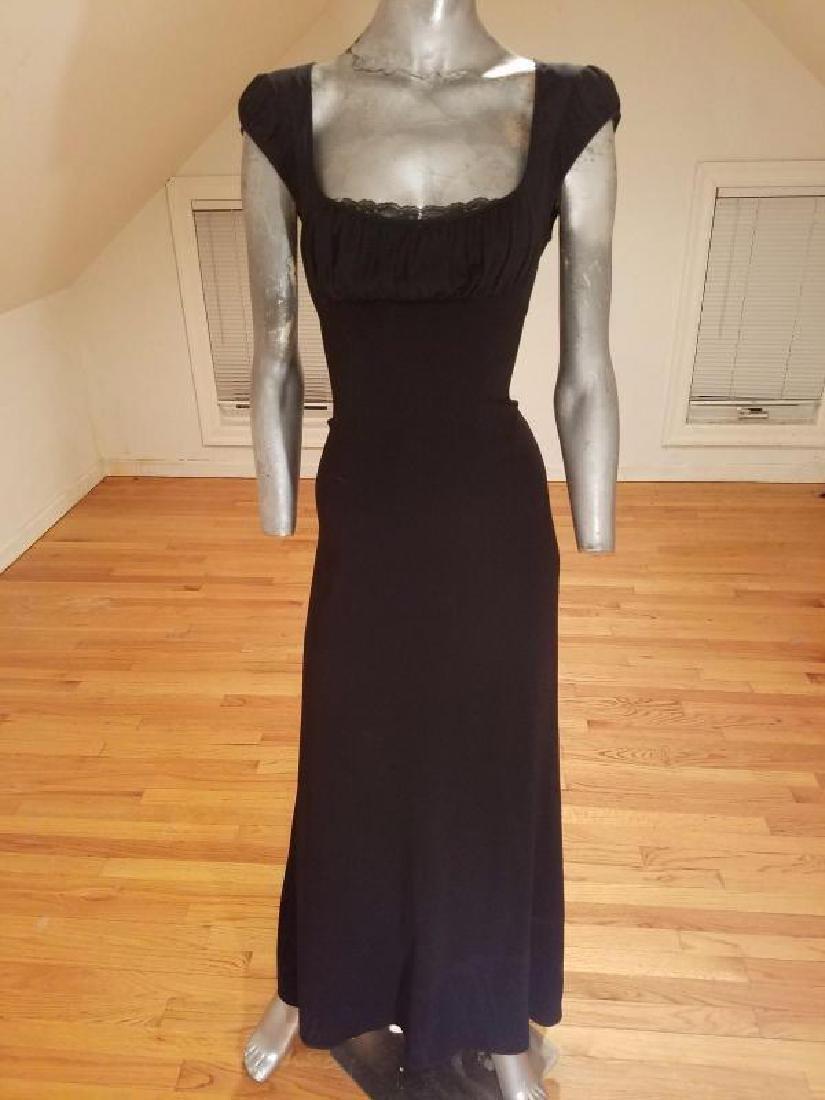 Eli Tahari couture gown lace under bodice - 4
