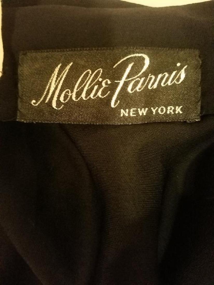 Vintage Mollie Parnis Couture jewelled embellished - 2