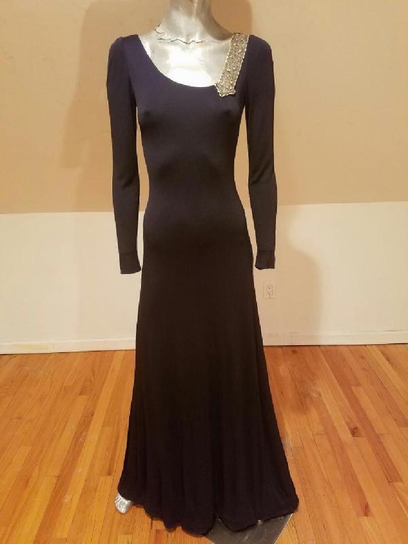 Vintage Mollie Parnis Couture jewelled embellished - 3