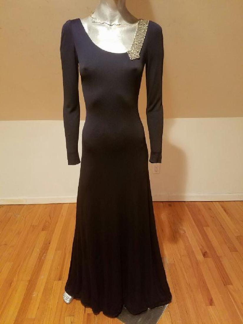 Vintage Mollie Parnis Couture jewelled embellished - 5
