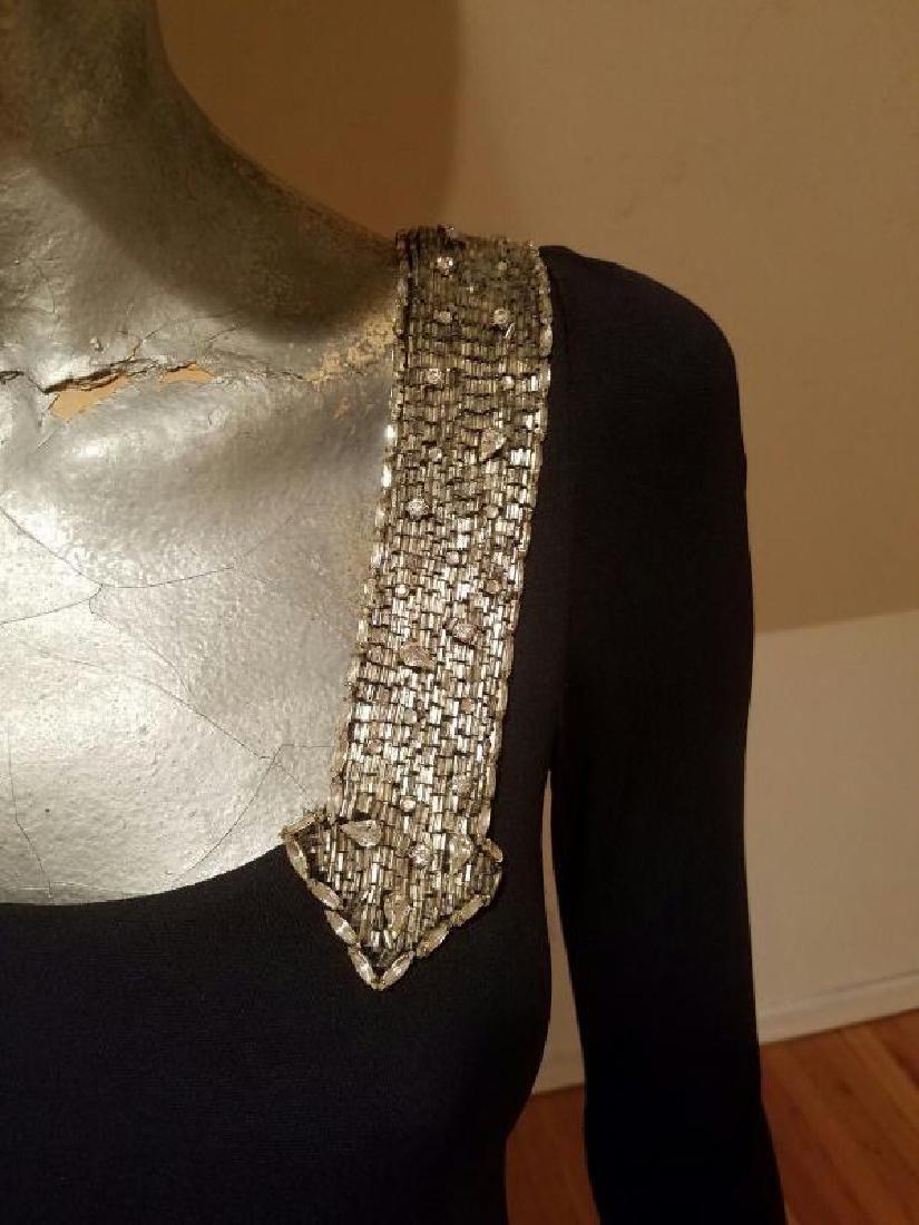 Vintage Mollie Parnis Couture jewelled embellished - 7